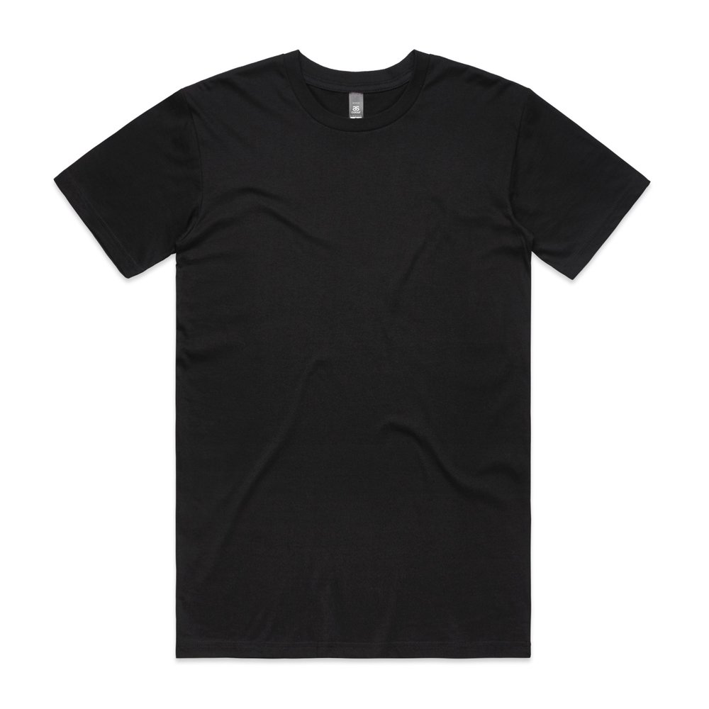 Mens Staple Tee 5001 - Regular Fit   Crew Neck   Mid-Weight   180 gsm   100% Combed Cotton   Preshrunk   33 Colours