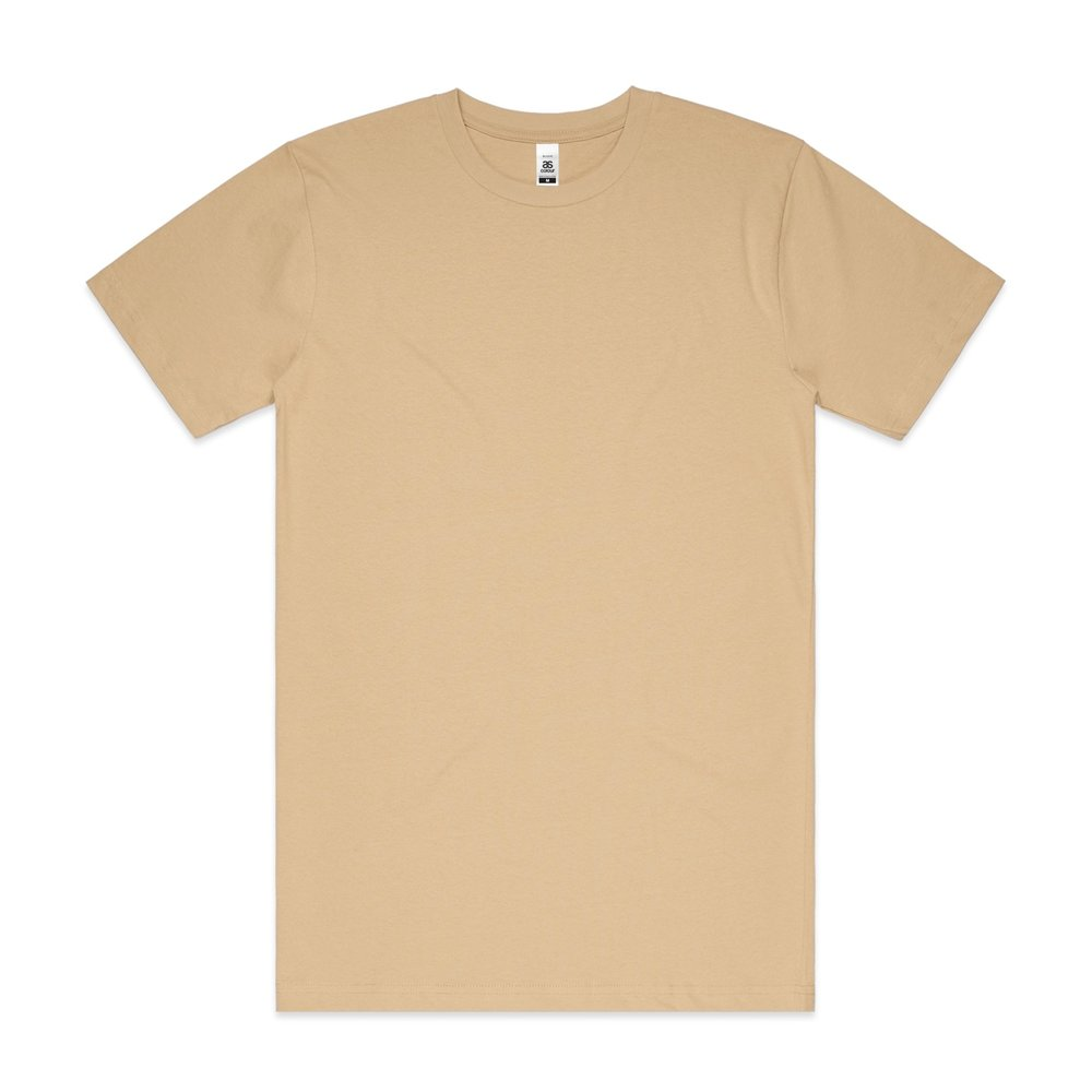 Mens Block Tee 5050 - Regular Fit   Crew Neck   Heavy-Weight   200 gsm   100% Carded Cotton   Preshrunk   15 Colours