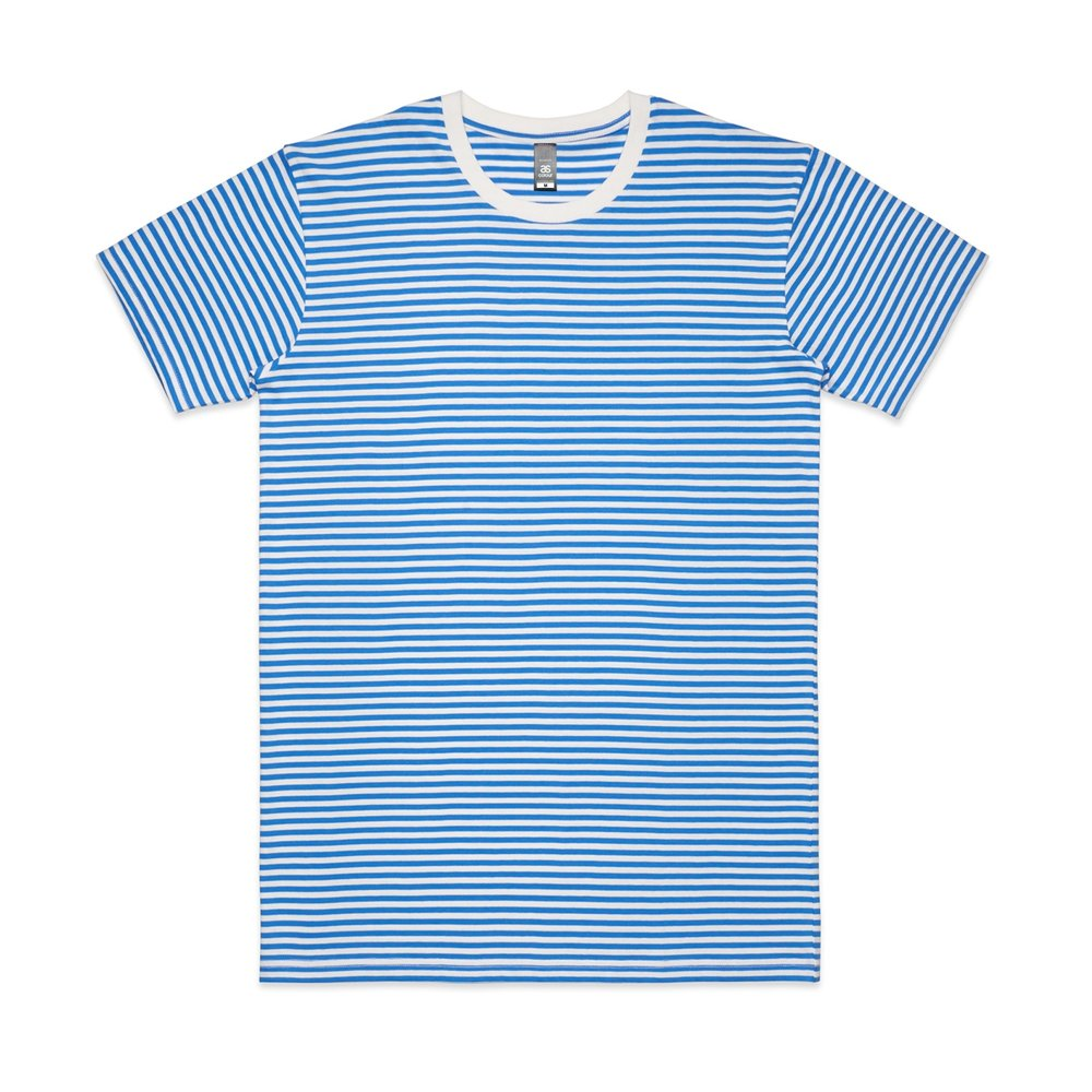 Mens Bowery Stripe Tee 5060 - Regular Fit   Crew Neck   Mid-Weight   160 gsm   100% Combed Cotton   Preshrunk   3 Colours