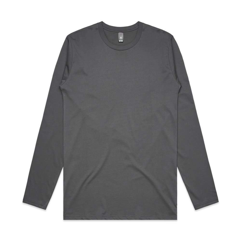 Mens Ink l/S Tee 5009 - Slim-Regular Fit   Crew Neck   Mid-Weight   180 gsm   100% Combed Cotton   Preshrunk   4 Colours