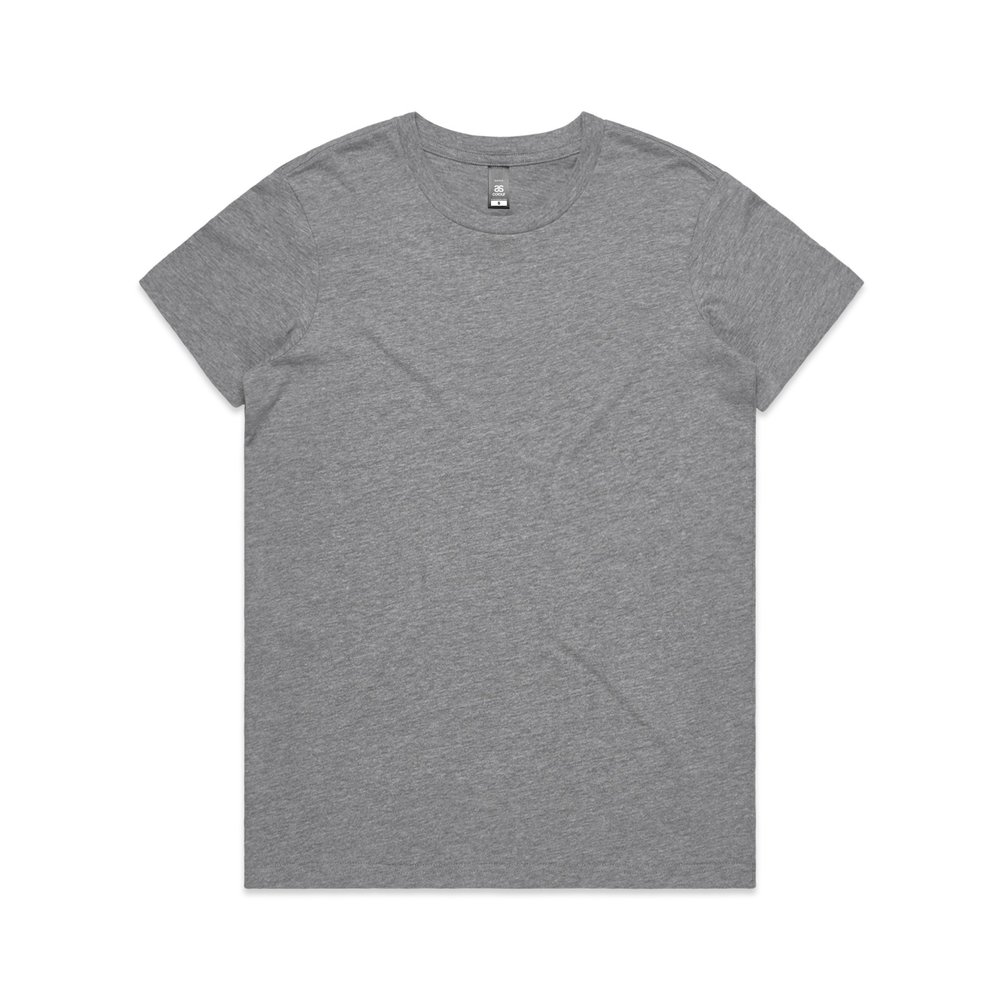 WO's Maple Tee 4001 - Regular Fit   Crew Neck   Mid-Weight   180 gsm   100% Combed Cotton   Preshrunk   25 Colours