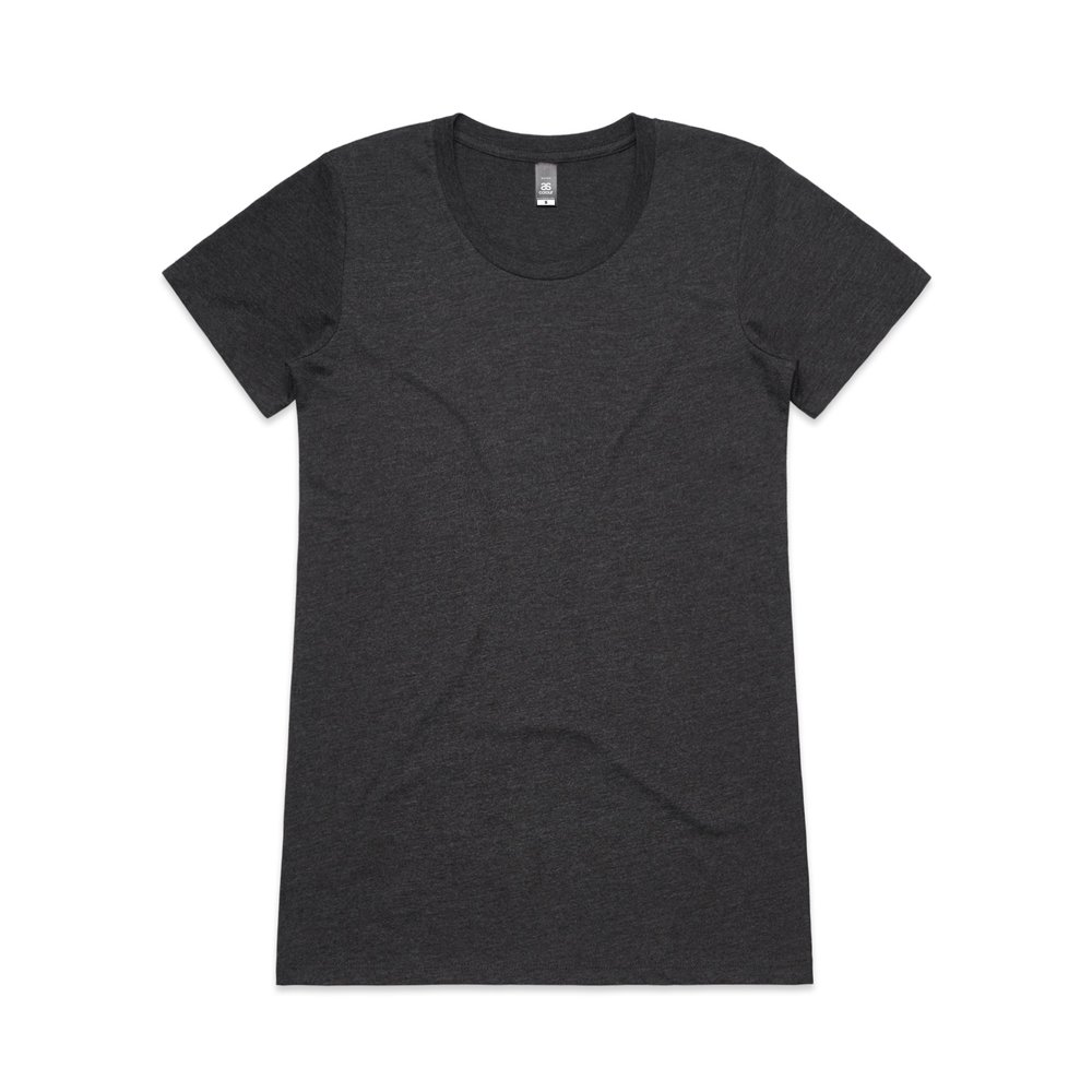 WO's Wafer Tee 4001 - Slim Fit   Crew Neck   Light-Weight   150 gsm   100% Combed Cotton   Preshrunk   8 Colours