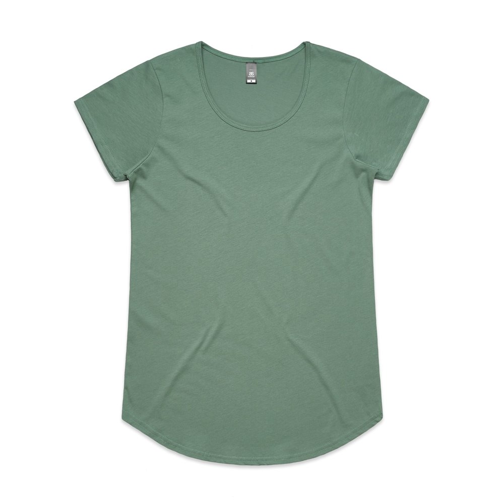 WO's Mali Tee 4008 - Regular Fit   Scoop Neck   Light-Weight   150 gsm   100% Combed Cotton   Preshrunk   15 Colours