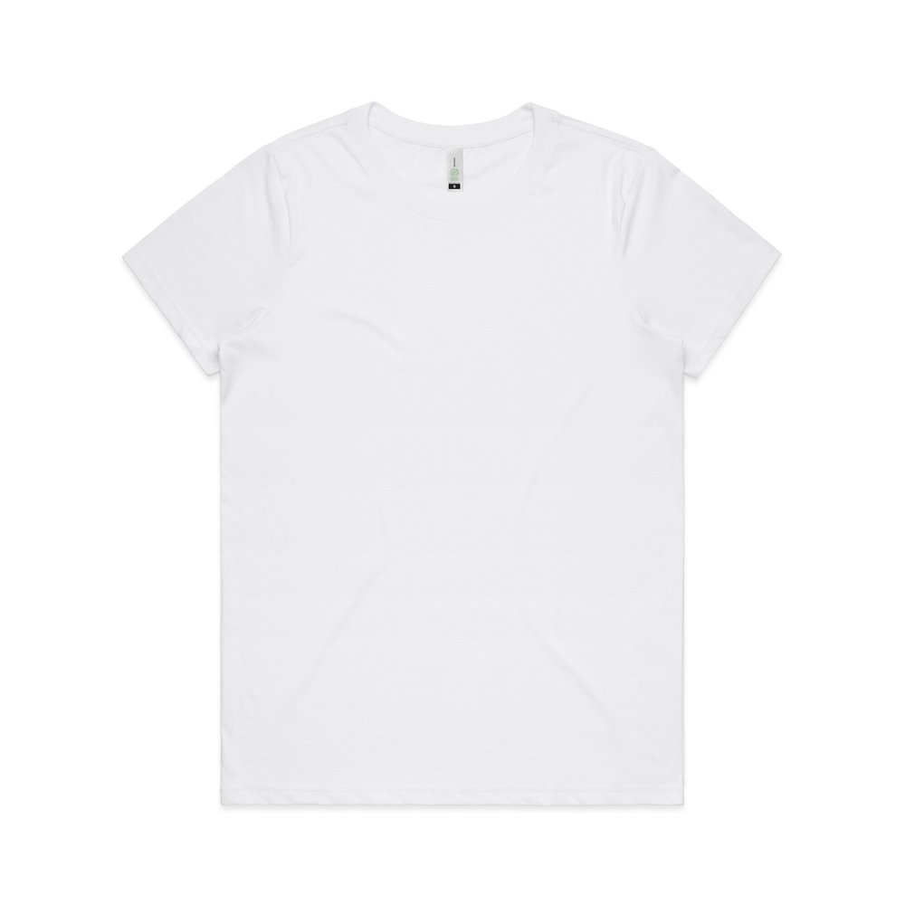 WO's Maple Organic Tee 4001G - Regular Fit   Crew Neck   Mid-Weight   180 gsm   100% Combed Organic Cotton   Preshrunk   3 Colours