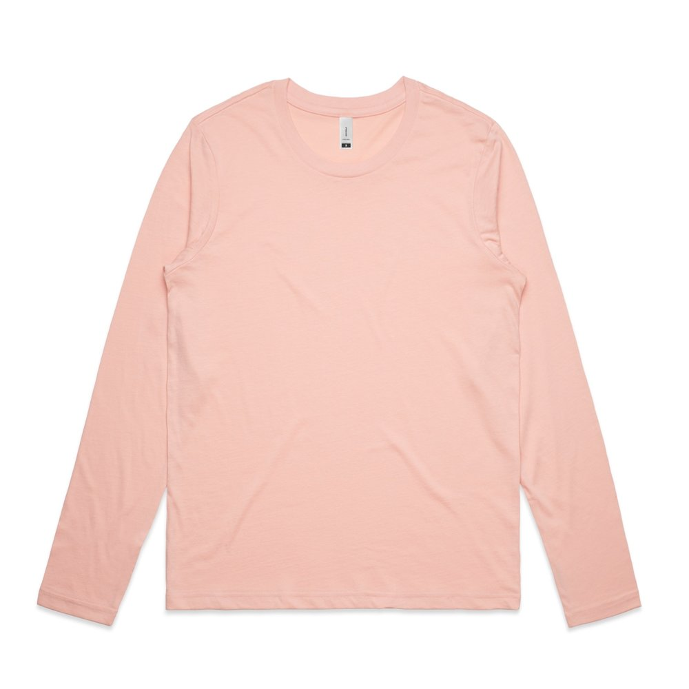 WO's Chelsea l/S Tee 4034 - Regular Fit   Crew Neck   Light-Weight   130 gsm   100% Combed Cotton   Preshrunk   4 Colours