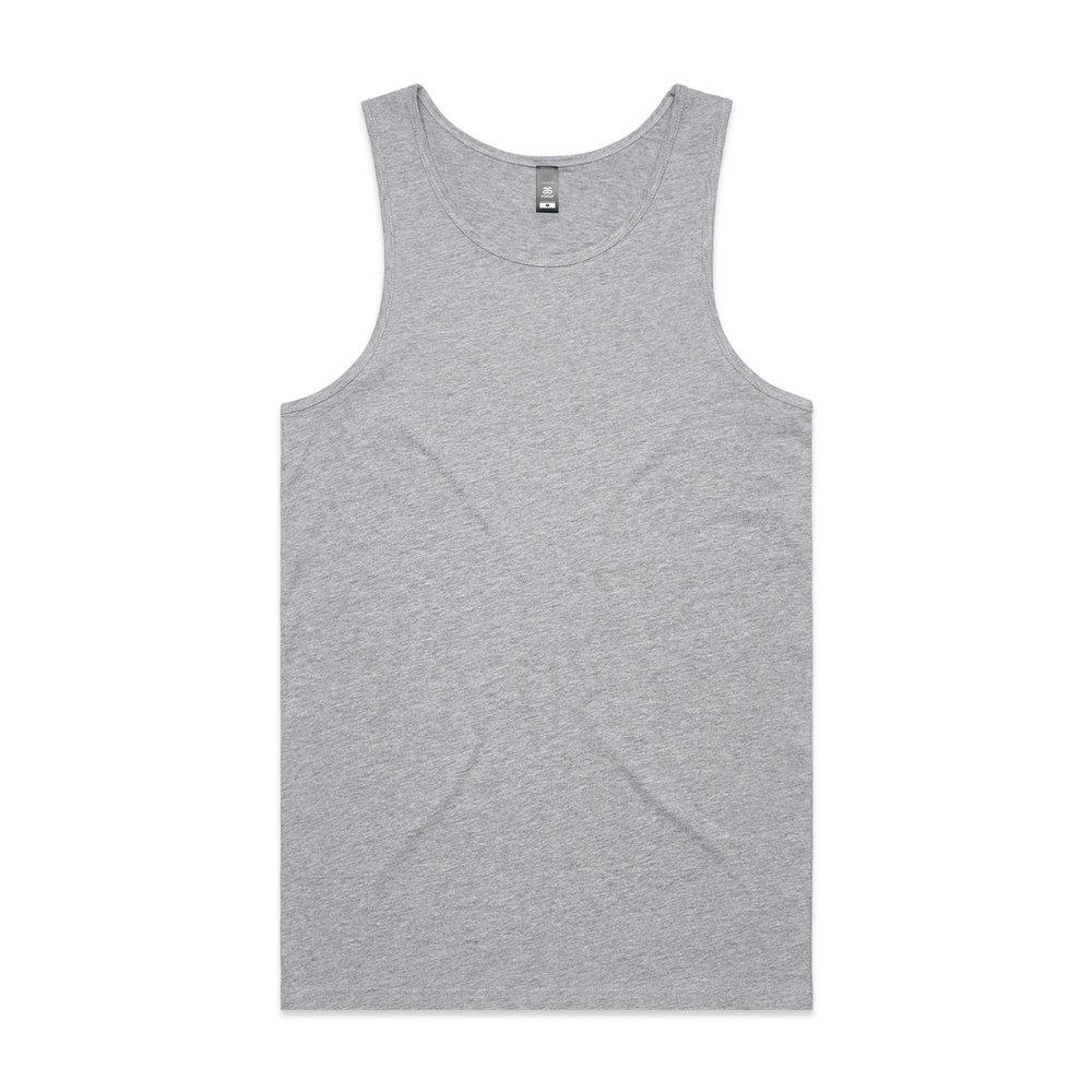 Mens Lowdown Singlet 5007 - Regular Fit   Regular Shape   Light-Weight   150 gsm   100% Combed Cotton   Preshrunk   6 Colours