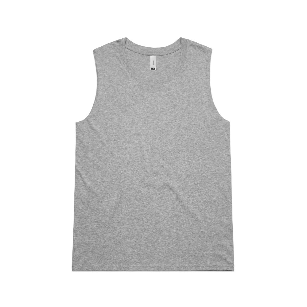 WO's Brooklyn Tank 4043 - Regular Fit   Raw Armhole Edges   Light-Weight   130 gsm   100% Combed Cotton   Preshrunk   4 Colours
