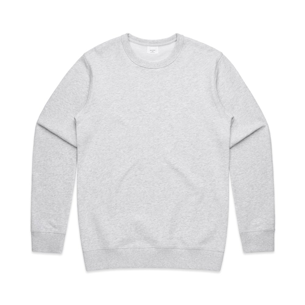 Mens Premium Crew 5121 - Relaxed Fit   Heavy-Weight   350 gsm   100% Cotton French Terry  Preshrunk   8 Colours