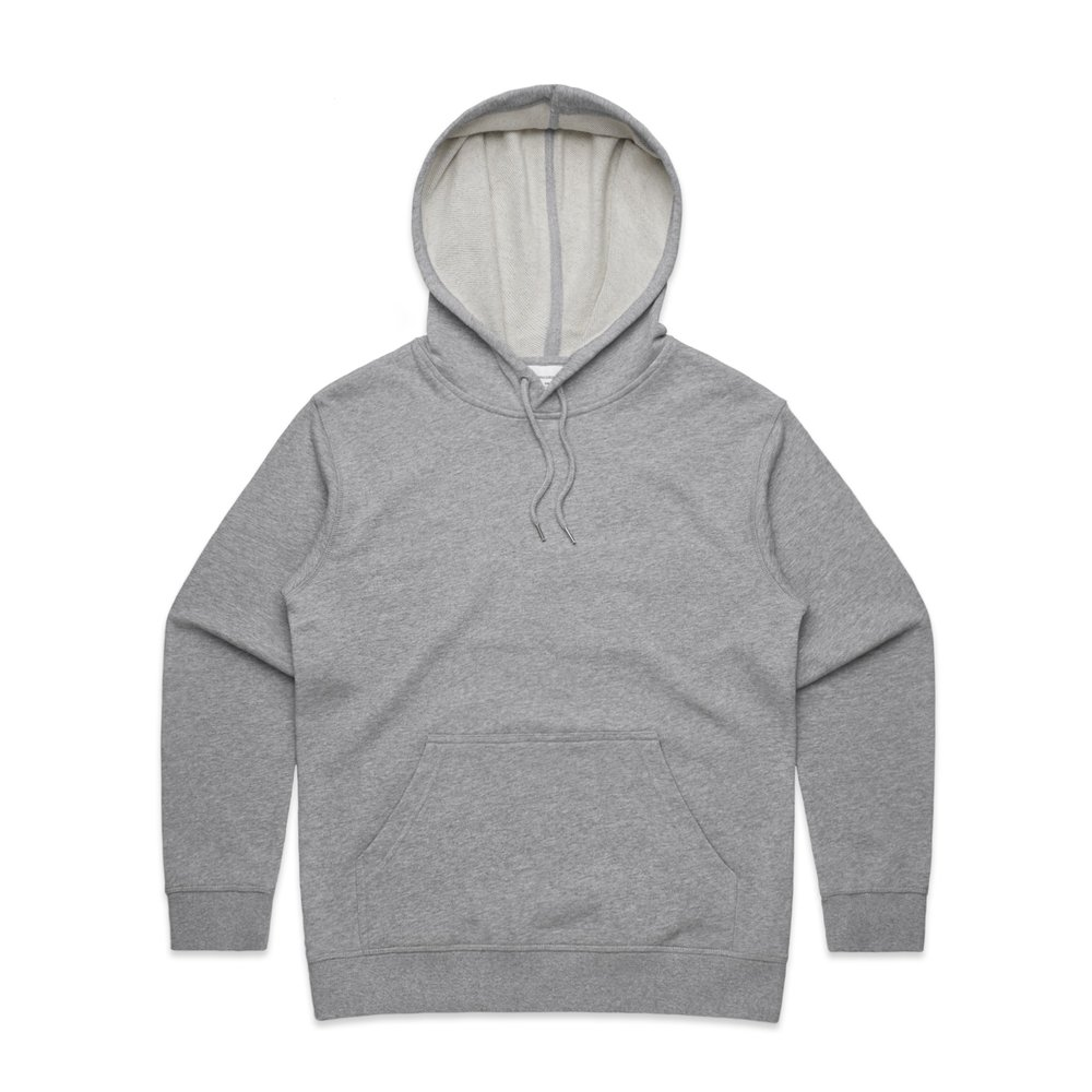 WO's Premium Hood 4120 - Relaxed Fit   Heavy-Weight   350 gsm   100% Cotton French Terry   Kangaroo Pocket   Preshrunk   5 Colours