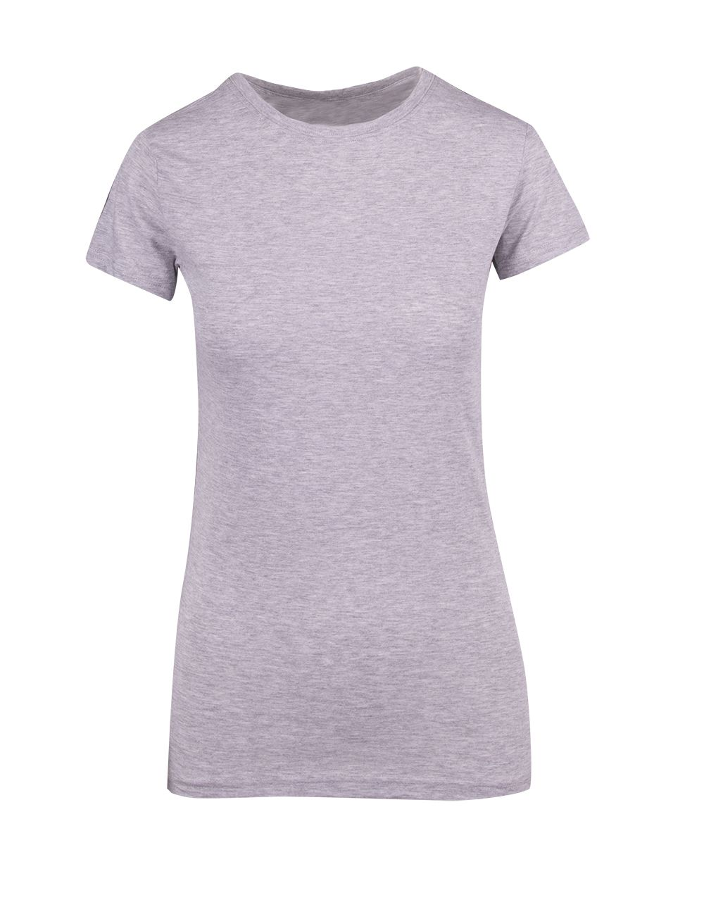 Ladies Modern Fit Tee T201LD - Tapered Fit   Crew Neck   Mid-Weight   185 gsm   100% Combed Cotton   15 Colours