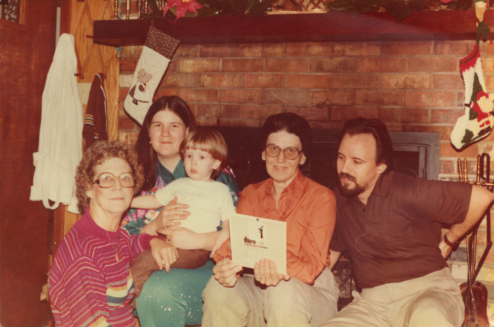 1981 - Christmas @ Maw-Maw Betty's House / Starkville, MS