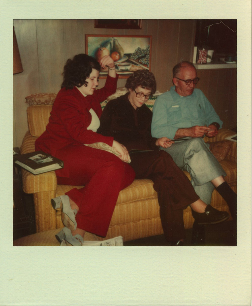 1980 - Colleen, Betty & Ernest / Houston, TX
