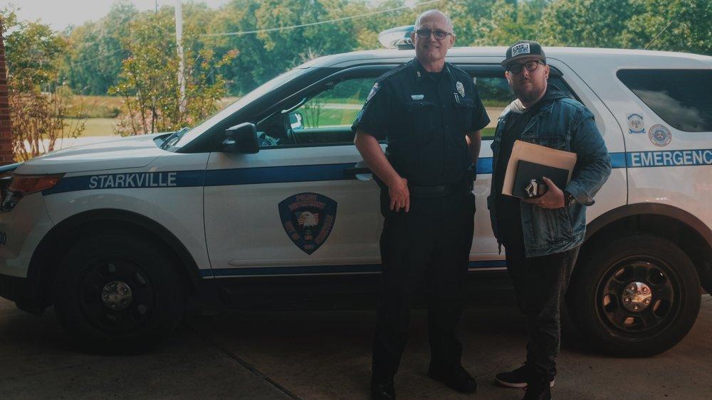 May 9, 2017 - Jason & Sgt. Bill Lott