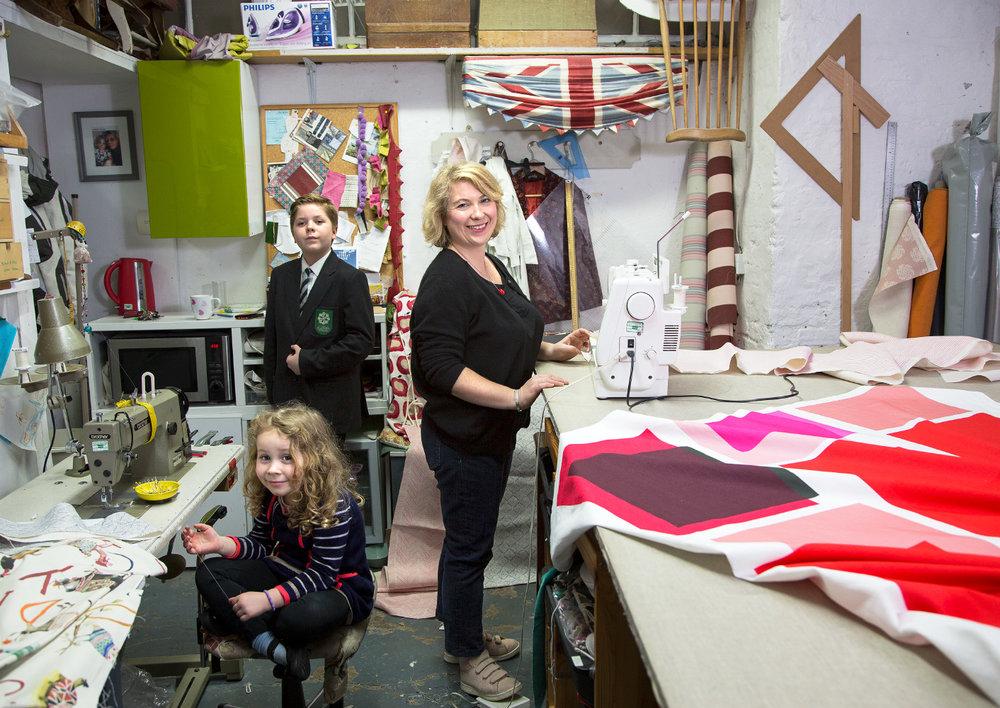 Danielle Budd - Director of Jayworks soft furnishings