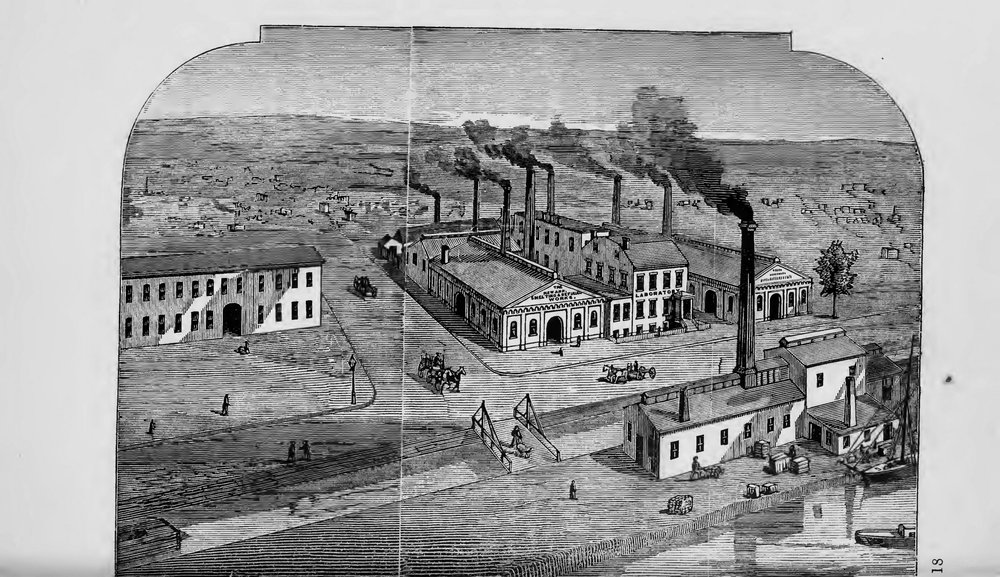 Franklin Ford,  The Industrial Interest of Newark , (N.J., New York: Van Arsdale & Co, 1874).