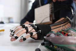 The EPFL design of hand exoskeleton