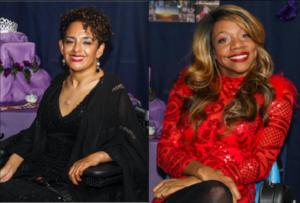 Left to right: Ligia Zuniga, Krystina Jackson