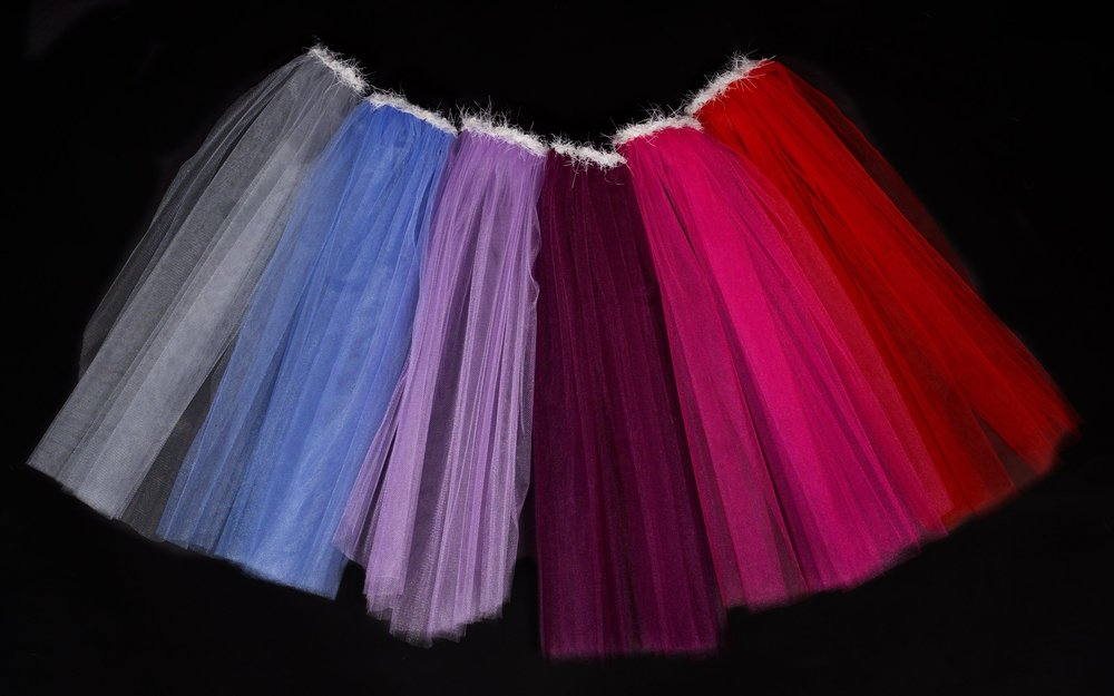 Coloured hen party veils