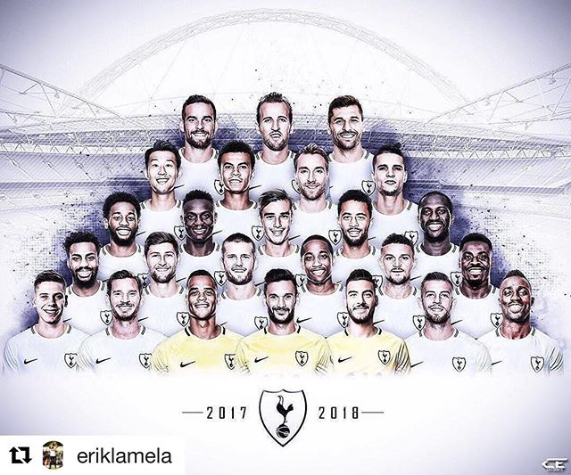 Our squad for the year.  Pumped to see these guys in action on Saturday.  It's been too long. #coys #thfc #yidarmy #tottenhamtillidie