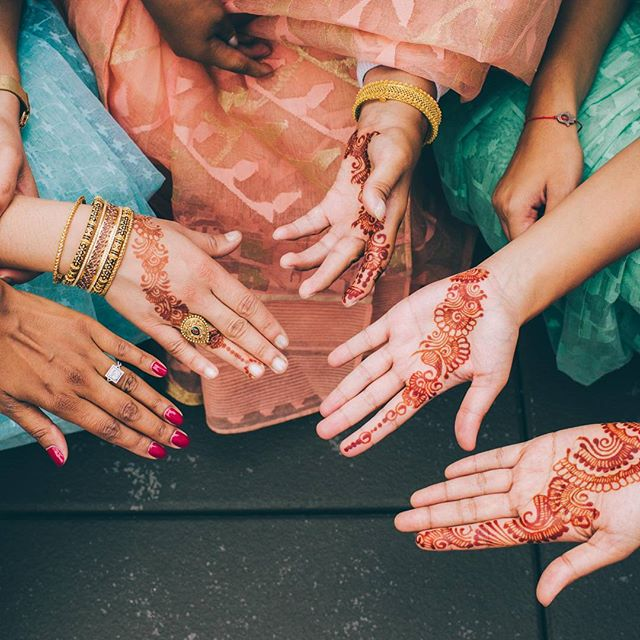All in.  henna by @hennabysajani | coordinator: Alexis of @hold_your_hand_events  #weddingphotography #weddingphotographer #weddingphotos #weddinginspiration #weddingseason #love  #newyorkcityphotographer #newyorkcitywedding #hands #newyorkweddingphotographer #bride #bridesmaids #bridalparty #realwedding #portraits  #bridalphotos #theknot #henna #weddingwire #brooklyn #newyork #nyc #indianwedding #colorful #pastel #saree #bengaliwedding #indianwedding #editoral