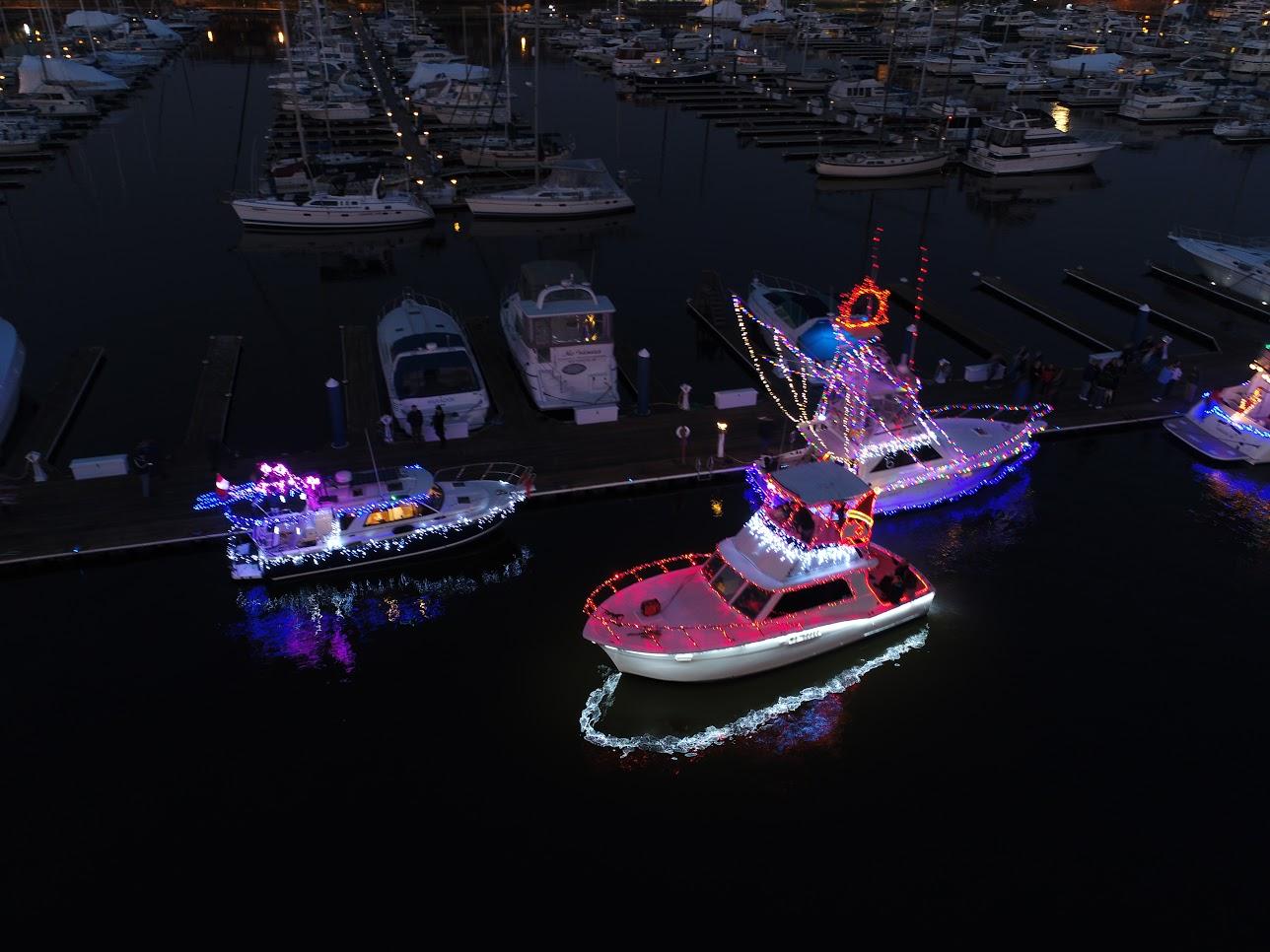 Baltimore's Parade of Lighted Boats — Anchorage Marina