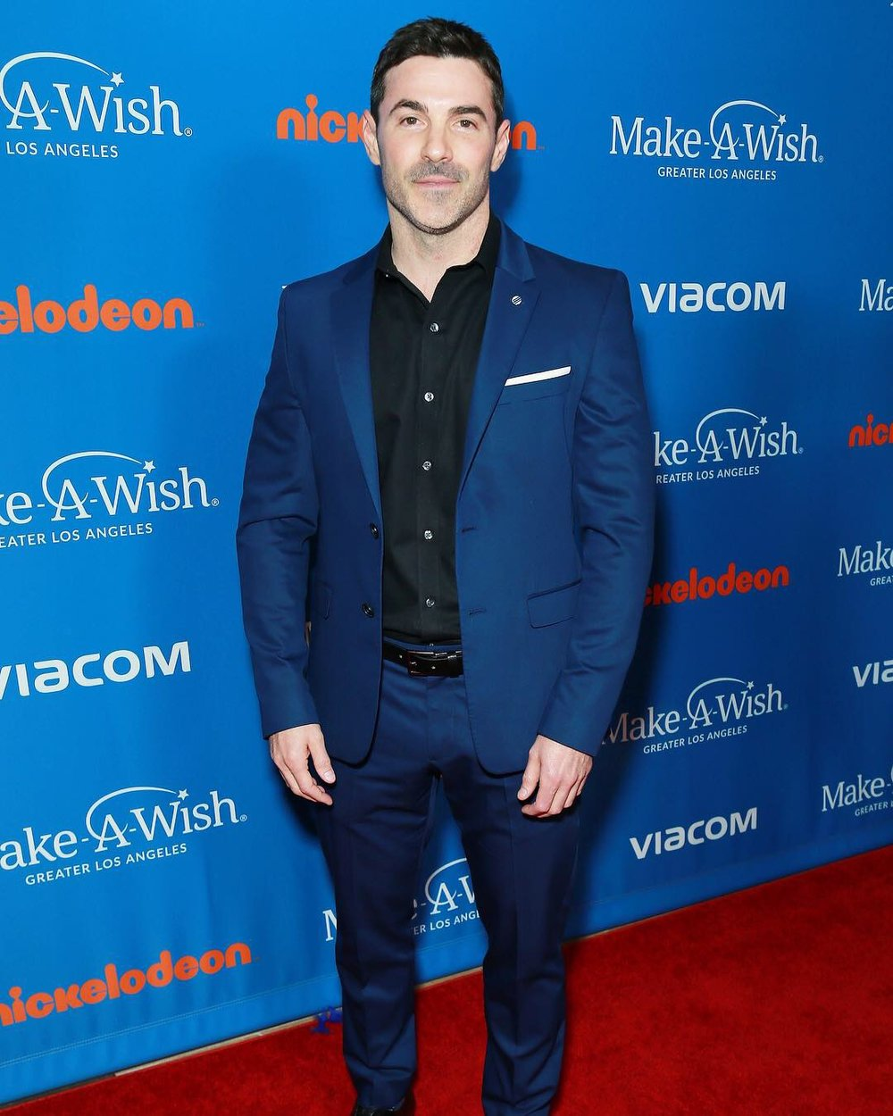 Josh arrives to represent Nickelodeon at the Wish Gala 2018