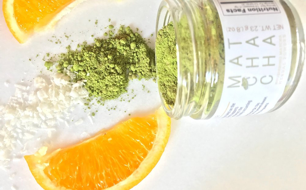 Matcha Orange Coconut Creamsicle Recipe - Matcha-Cha Herbal Blend by Wild Sun Wellness