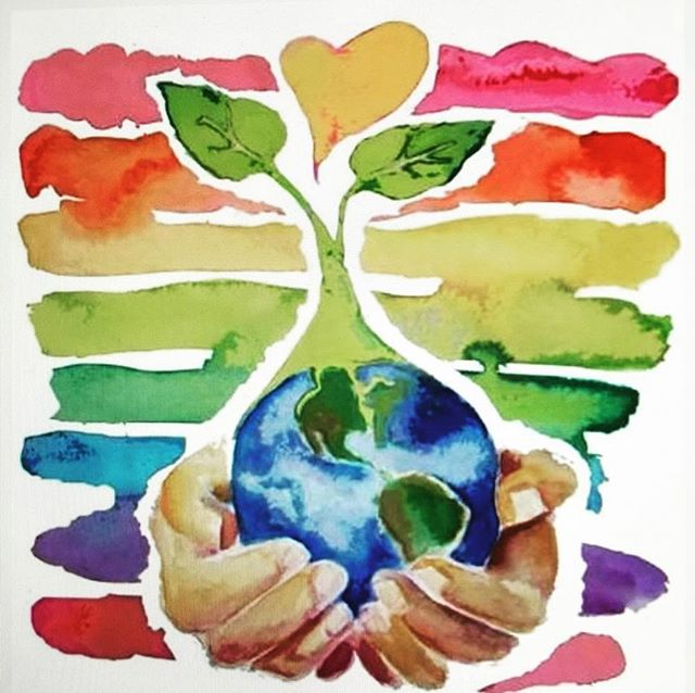 Happy Earth Day, don't forget to show some big love for this incredible planet we are all so lucky to live on 💚🌍💚🌳 #earthday2019 #wildsunwellness #enrichyourbeing