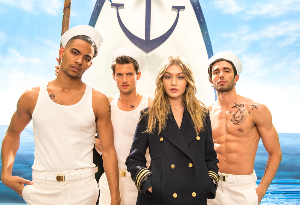 Gigi Hadid / Tommy Hilfiger / Behind the Scenes