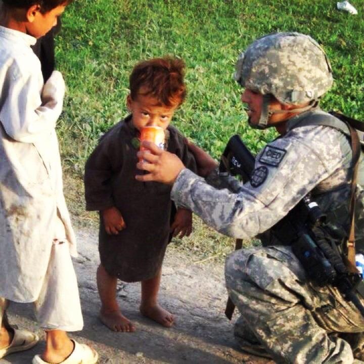 ryan army kid drink.jpg