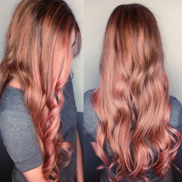 Rose Gold Heath Hair Salon Spa