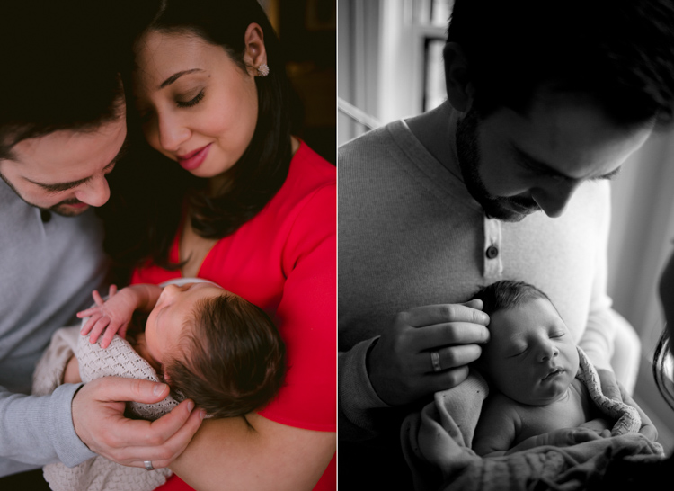 Love is in the Air   In home Chicago Newborn Photography