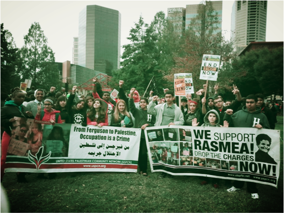 USPCN Youth Contingent, Ferguson October, 2014