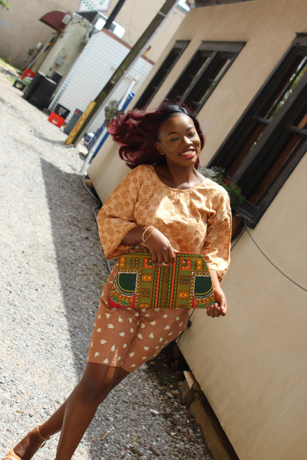 nigerian fashion dashiki purse
