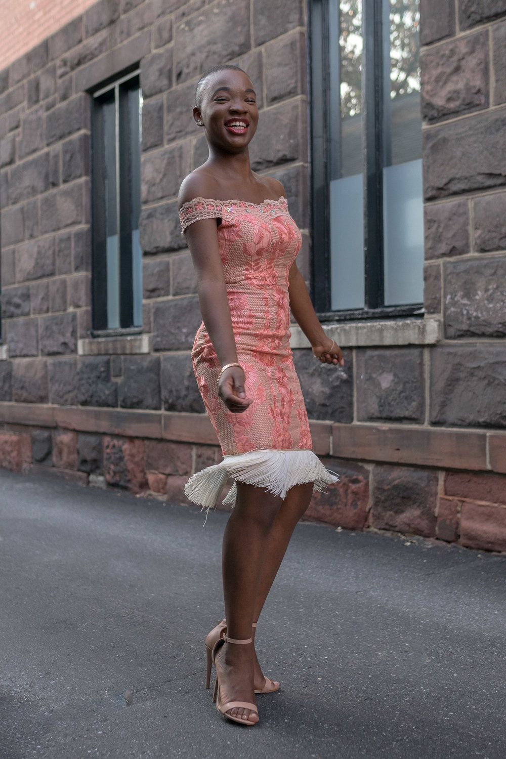 African short dress and style