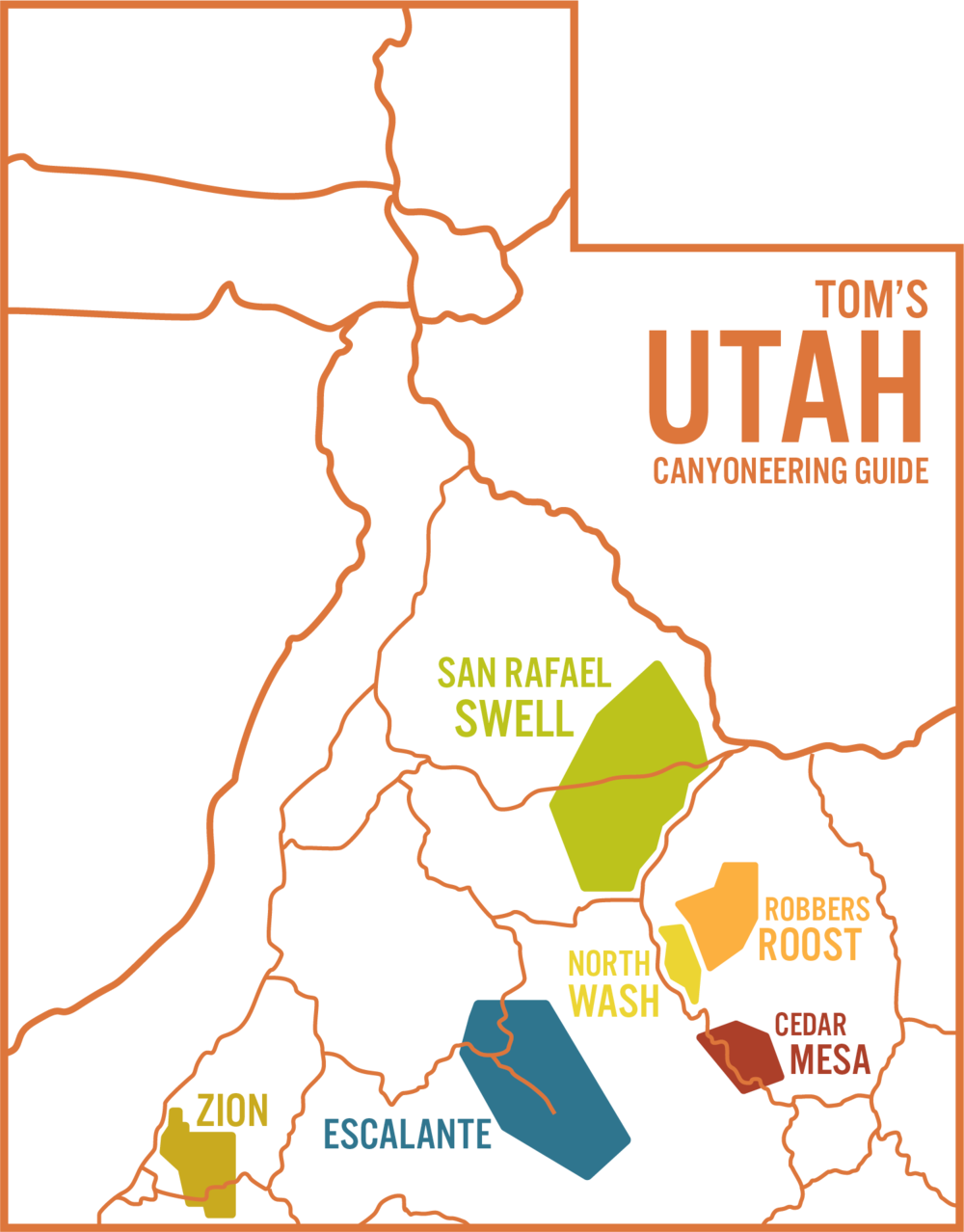 Short Creek Utah Map.Canyoneering Usa A Utah Canyoneering Resource For All Canyoneers