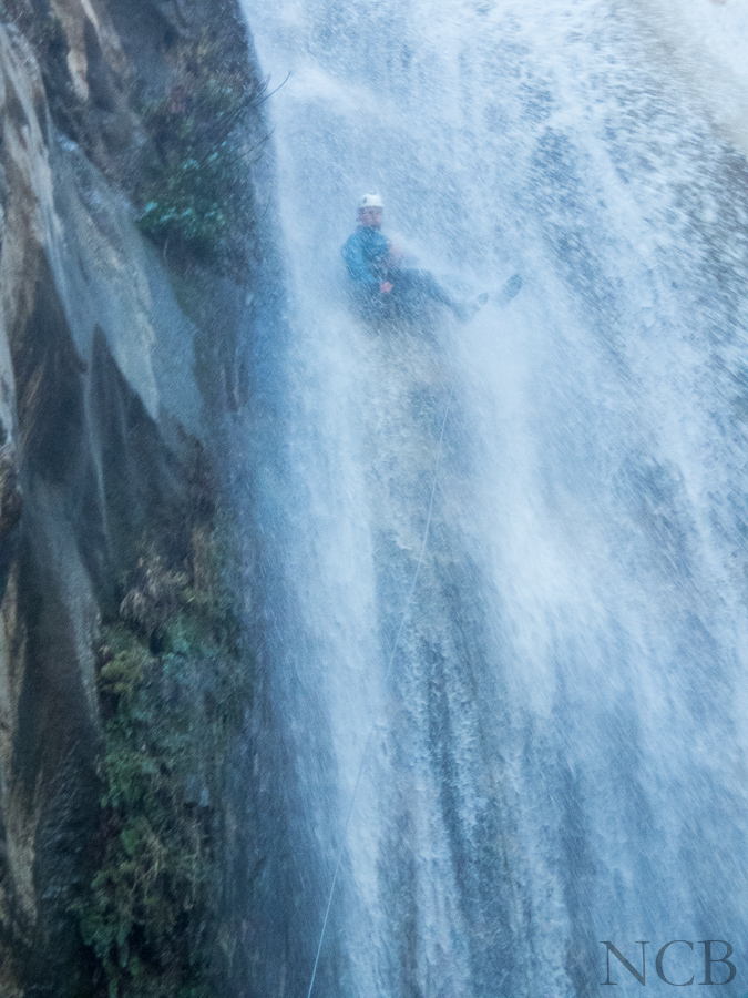 IN the Big Falls