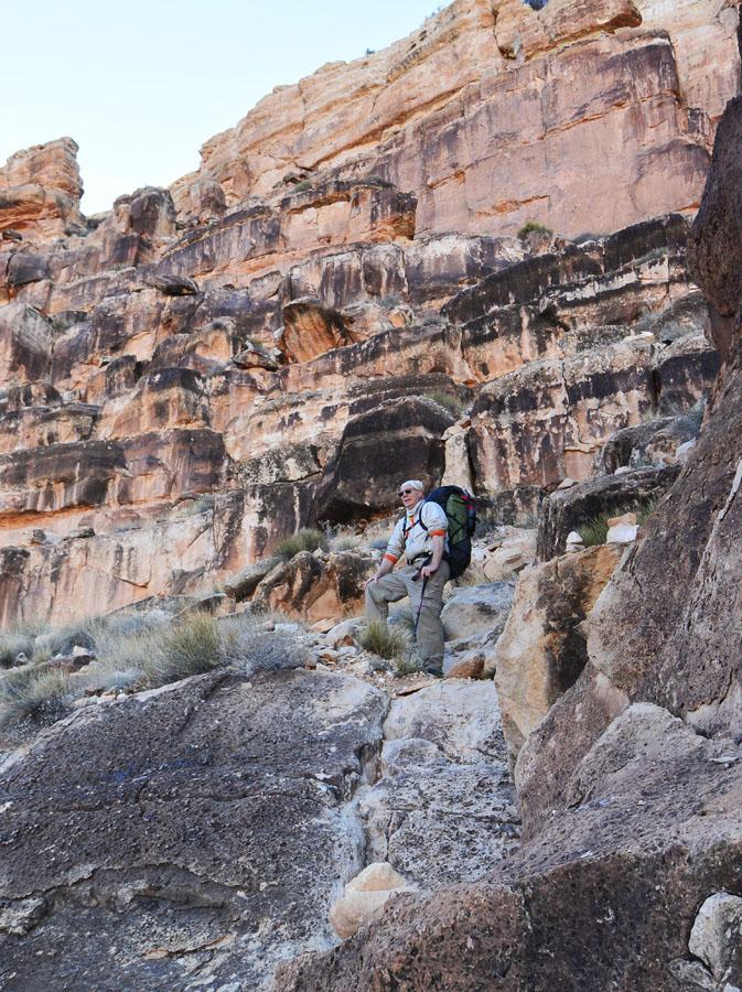 Climbing the Kaibab
