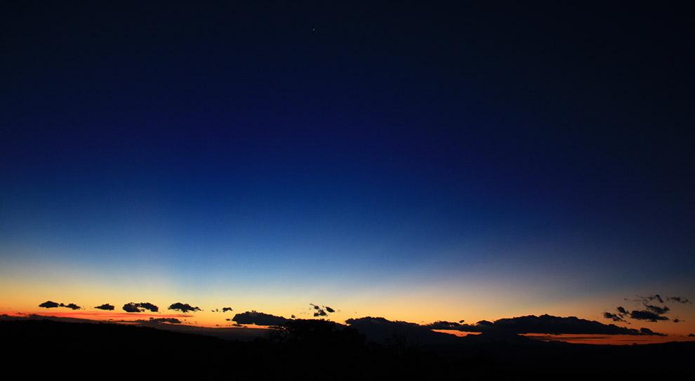 Sunrise from Sunrise Rock, Pandora's Box, Capitol Reef