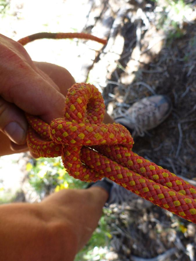 Looks like a slip knot