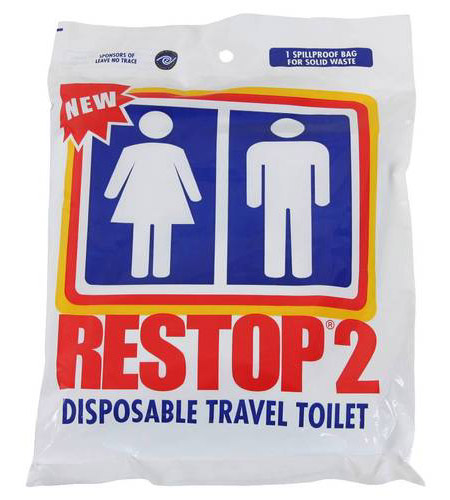 Yes, leave no trace also applies to waste. - Stock up on Restop bags in the CUSA Store >>
