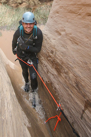 Canyoneering is not climbing. - Don't mistake a solid climbing skill set for the one you'll need to safely get through a Colorado Plateau canyon. They're completely different.