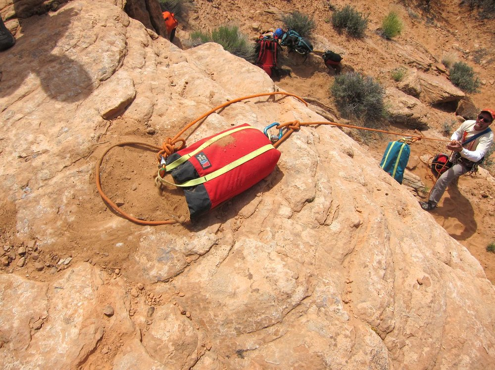 Canyon Training - How do you improve your canyoneering skills? Taking a training course is a good start. Canyoneering with a variety of people is good too. Taking a training class will do both for you: direct training on specific skills is the obvious benefit, but you can also hook up with your classmates for future adventures.