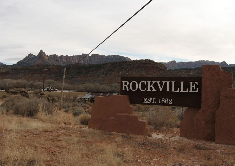 Rockville, Utah - image courtesy Wikimedia Commons