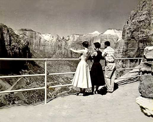 Mid-century tourists