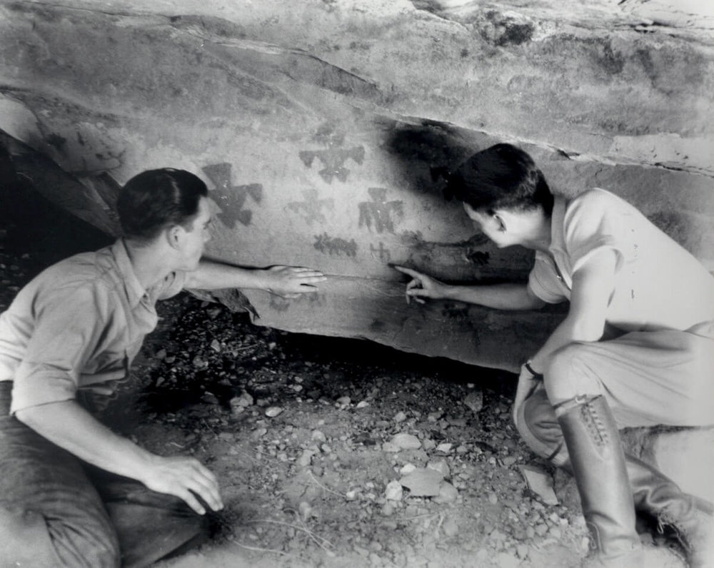 Early archaeology in the park
