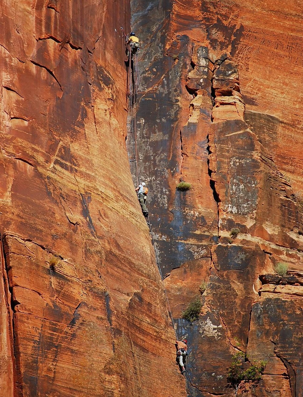 Rock Climbing in Zion - Climbing came to the area in 1927 with the first recorded ascent of the Great White Throne by