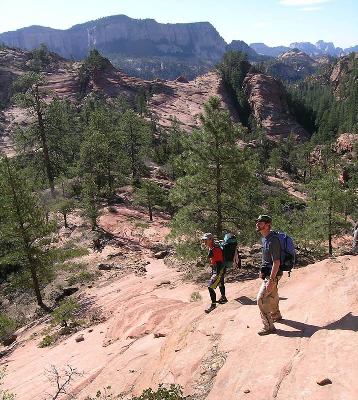 Heading toward slick rock
