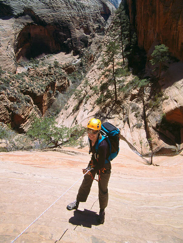 Behunin Canyon rappel - Zion National Park