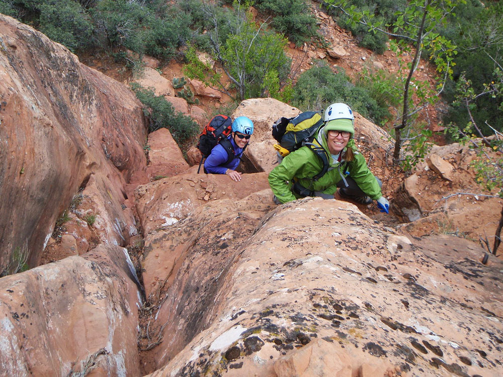 Casual or committing... - Zion's off-trail hikes can range in intensity from strolls to scrambles.